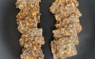 Crackers aux graines riches en nutriments